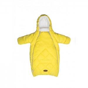 Конверт для новорожденного с рукавами замша/флис Mammie