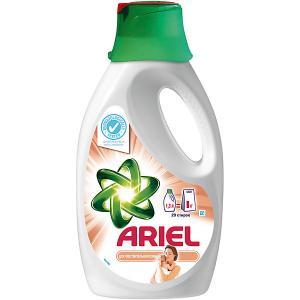 Детский жидкий стиральный порошок  1,3 л Ariel. Цвет: белый