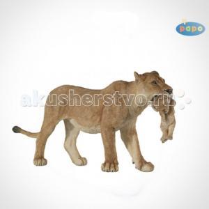 Игровая реалистичная фигурка Львица со львёнком Papo