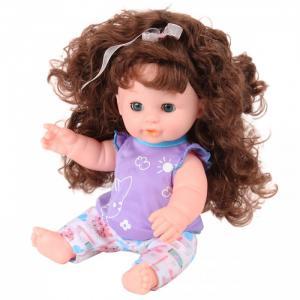 Кукла-Пупсик с длинными волосами озвучен 35 см 72289 Lisa Jane