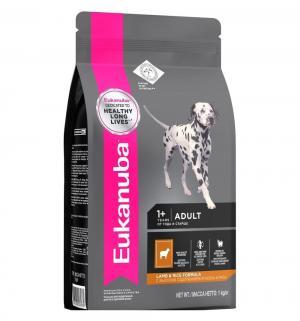 Euk Dog корм для взрослых собак всех пород ягненок 12 кг. Eukanuba