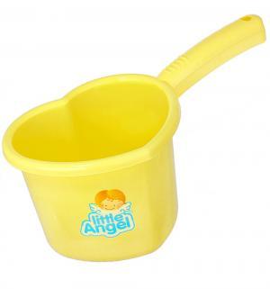 Ковшик  для детской ванной, цвет: желтый Little Angel