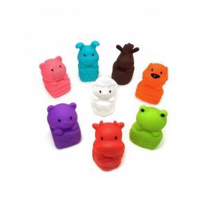 Набор игрушек для ванной Милые животные 8 шт. ЯиГрушка