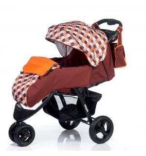 Прогулочная коляска  Voyage air, цвет: brown-orange BabyHit