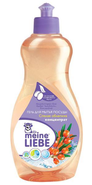 Гель-концентрат для мытья посуды  Спелая облепиха, 500 мл Meine Liebe