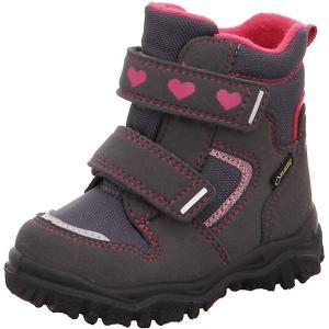 Утепленные ботинки Superfit. Цвет: серый