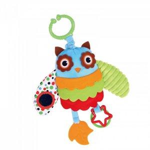 Подвесная игрушка  на прищепке Совушка 36x24 см Biba Toys