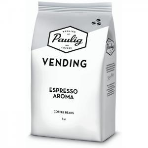 Кофе Vending Espresso Aroma зерно 1 кг Paulig