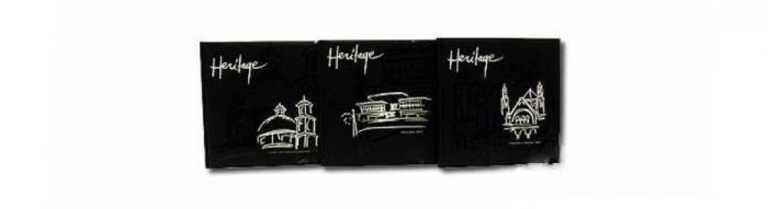Магнитный фотоальбом Heritage 20 листов в кейсе 32х32 см Veld CO