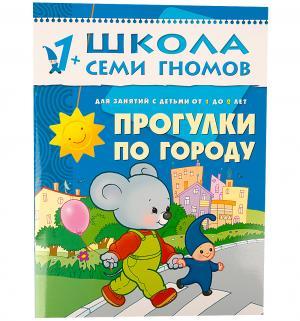 Книга развивающая  Прогулки по городу 1+ Школа Семи Гномов
