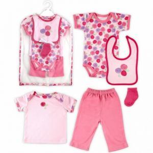 Подарочный набор одежды Роза (6 предметов) Hudson Baby