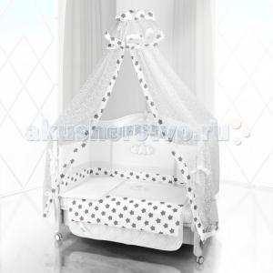 Комплект в кроватку  Unico Grande Stella 125х65 (6 предметов) Beatrice Bambini