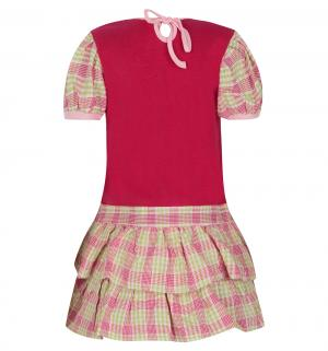 Платье , цвет: зеленый/розовый Damy-M