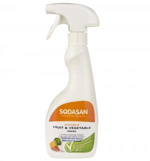 Средство для мытья фруктов и овощей , 500 мл Sodasan