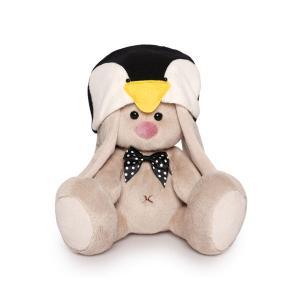 Мягкая игрушка  Малыши Зайка Ми в шапке пингвина 15 см Budi Basa