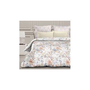 Комплект постельного белья  Орнелла, евро Романтика. Цвет: разноцветный