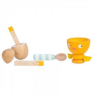 Деревянная игрушка  Игрушечная еда Яйцо на завтрак LeToyVan