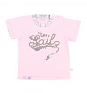 Футболка  Паруса, цвет: розовый MM Dadak
