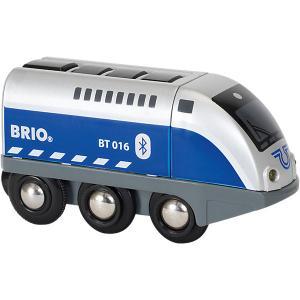 Паровозик Brio, управляемый с мобильного приложения BRIO