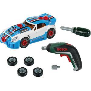 Игровой набор Klein Bosch Тюниг-ателье с машиной и шуруповертом