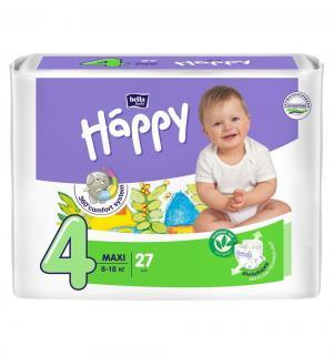 Подгузники  Baby Happy Maxi 4 (8-18 кг) 27 шт. Bella