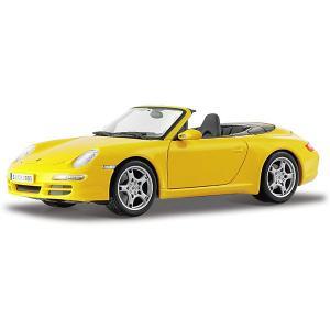 Машинка  Porsche 911 Carrera S Cabriolet, 1:18 Maisto. Цвет: разноцветный