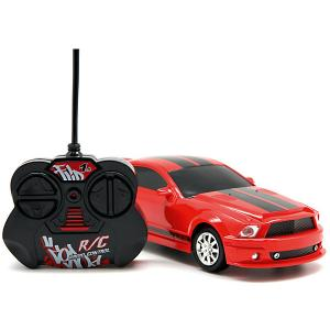 Машина на радиоуправлении  Гоночная 1:20, красная Balbi. Цвет: разноцветный