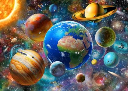Пазл Солнечная система 500 деталей Educa