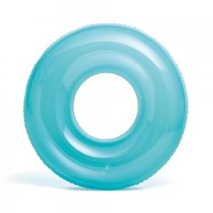 Надувной круг  Transparent Льдинка, 76 см Intex