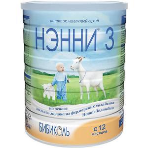 Молочный напиток на основе козьего молока  3, с 12 мес, 800 г Нэнни