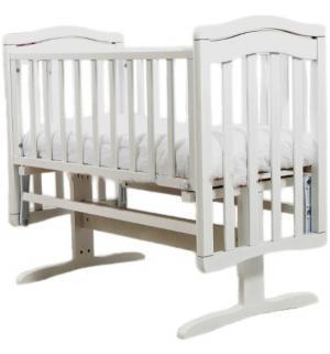Кровать-люлька  Лили, цвет: белый Гандылян
