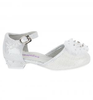 Туфли , цвет: белый Канарейка