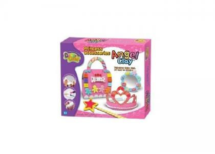 Игровой набор массы для лепки Princess Accessories Angel Clay