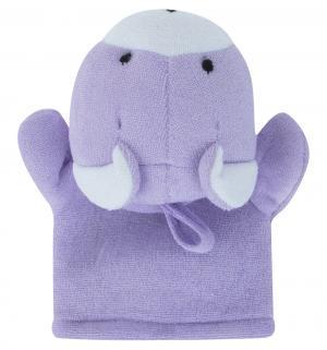 Мочалка-рукавичка  Животные Мышка Сказка
