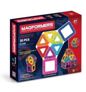 Магнитный конструктор  30 деталей Magformers