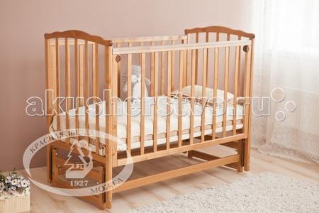 Детская кроватка  Кристина С-619 маятник продольный Можга (Красная Звезда)