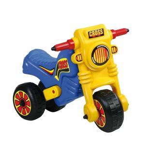 Мото-кросс  111, цвет: желтый/синий Dohany