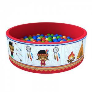 Сухой бассейн Индейцы + 100 шариков Romana