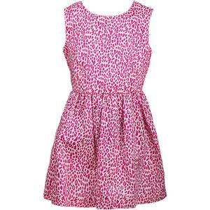 Платье для девочки WOW. Цвет: розовый