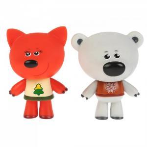 Набор из 2-х игрушек для ванны Мимимишки Белая Тучка и Лисичка Капитошка
