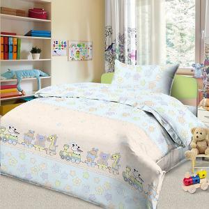 Детское постельное белье 3 предмета , BG-86 Letto. Цвет: желтый