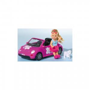 Кукла Еви и машинка, Simba