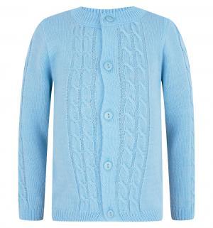 Кофта  Подрастайка, цвет: голубой Уси-Пуси