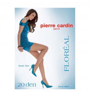 Колготки  Cr floreal, цвет: черный Pierre Cardin