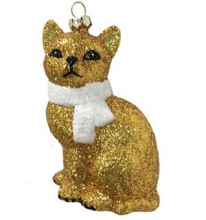 Елочное украшение  Кошка 10.5 см Новогодняя сказка