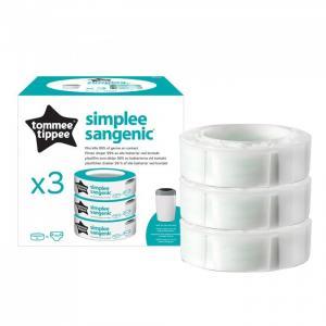 Сменная кассета для утилизатора Simplee 3 шт. Tommee Tippee