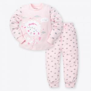 Пижама для девочки (брюки, джемпер) Барашек Kaftan