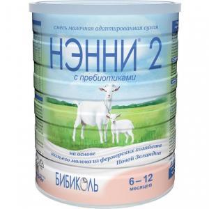 Заменитель молока  2 с 6 месяцев, 800 г Нэнни