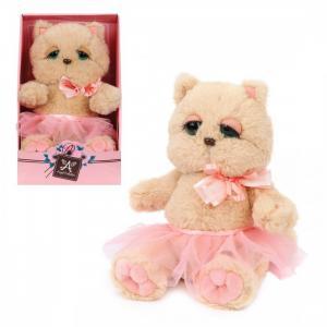 Мягкая игрушка  Киска Персик в юбочке Angel Collection