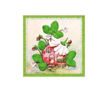 Набор для творчества мозаика из пайеток Земляничный аромат Волшебная мастерская